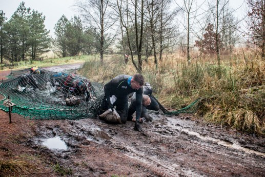MacTuff, Hindernislauf Schottland, Hindernis Netz