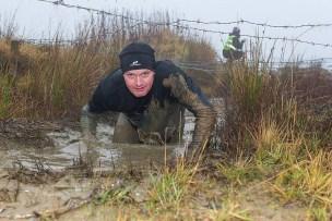 MacTuff, Hindernislauf Schottland, Kriechhindernis