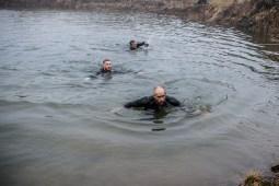 MacTuff, Hindernislauf Schottland, Schwimmhindernis