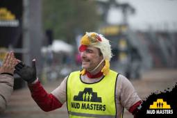 Mud Masters Obstacle Run Night Shift, Hindernislauf Deutschland, Tough Chicken im Ziel