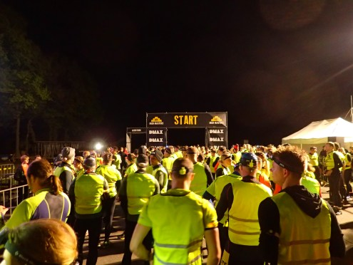 Mud Masters Obstacle Run Night Shift, Hindernislauf Deutschland, Vor dem Start