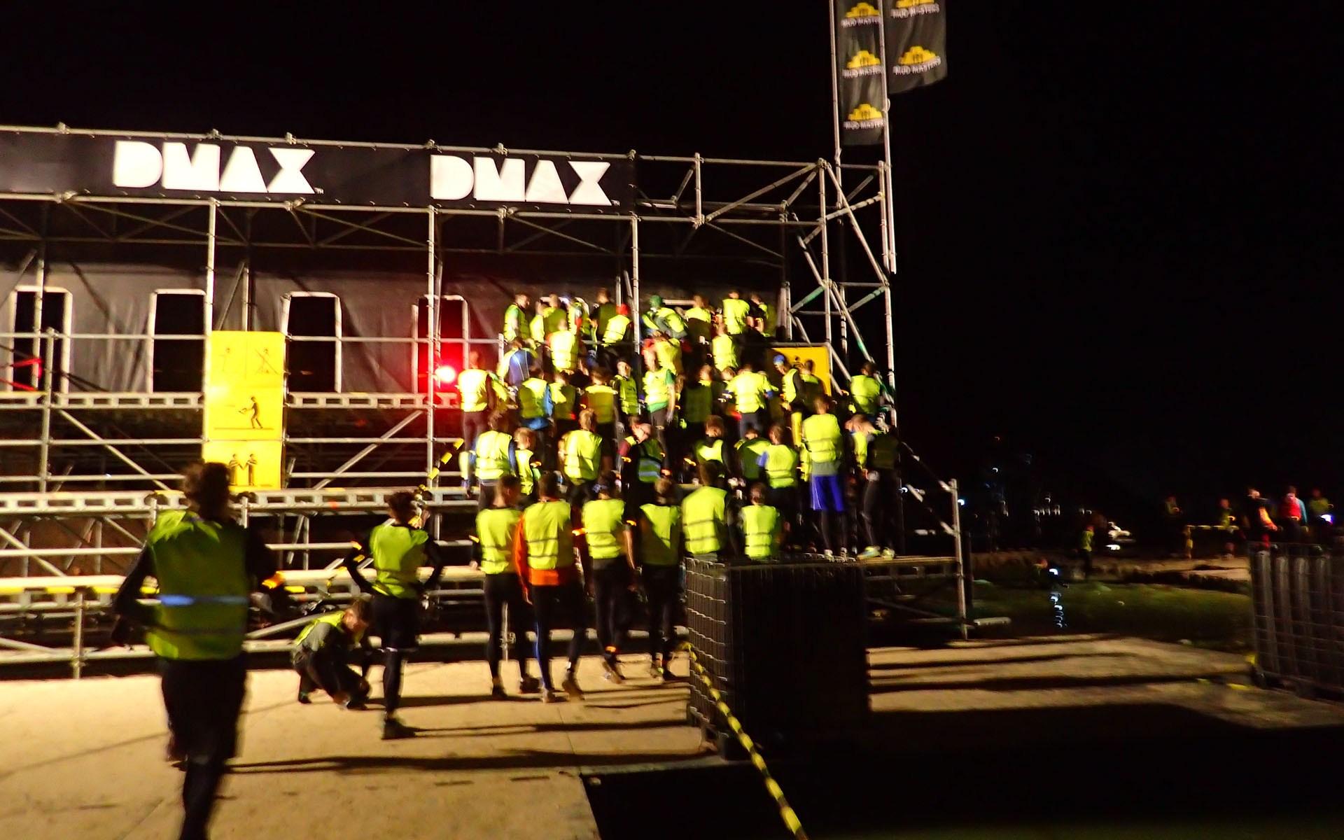 Mud Masters Obstacle, Hindernislauf Deutschland, Hindernis Execution by night