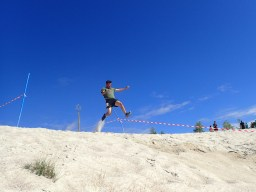 Sandblaster Run, Hindernislauf Deutschland, Hindernis Long Jump