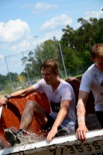 Wrestling Run, Hindernislauf Deutschland, Hindernis Wassercontainer