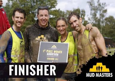 Mud Masters Obstacle Run, Hindernislauf Deutschland, Finisher
