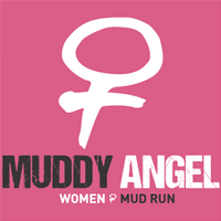 Logo Muddy Angel Mud Run