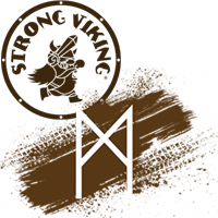 Logo Strong Viking Mud Edition