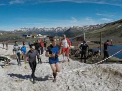 Spartan Race Beast, Spartan Mountain Series Europe, Hindernislauf Andorra, Hindernis Schneeball werfen