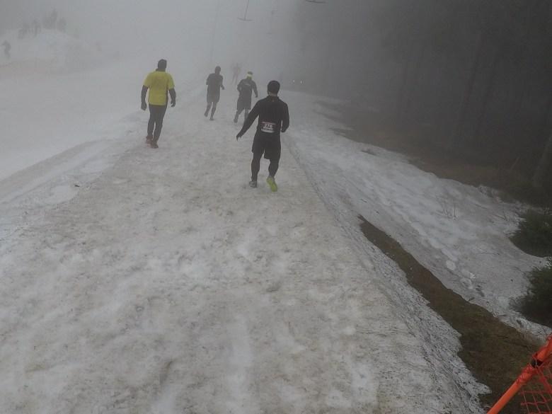 Braveheart Battle, Hindernislauf Thüringen, Schneepassage