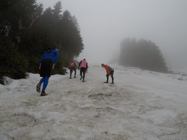 Braveheart Battle, Hindernislauf Thüringen, Steilhang Skipiste