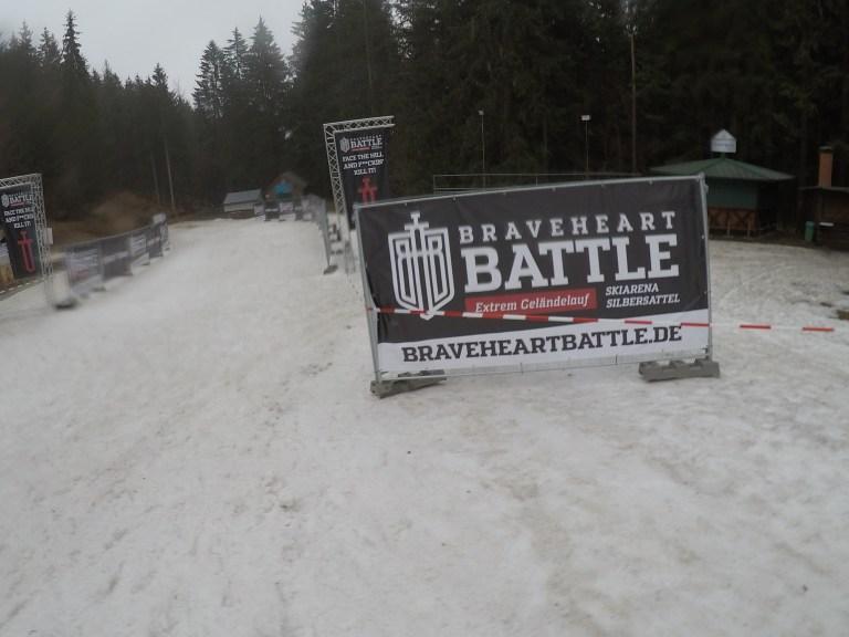 Braveheart Battle, Hindernislauf Thüringen, Strecke Startbereich