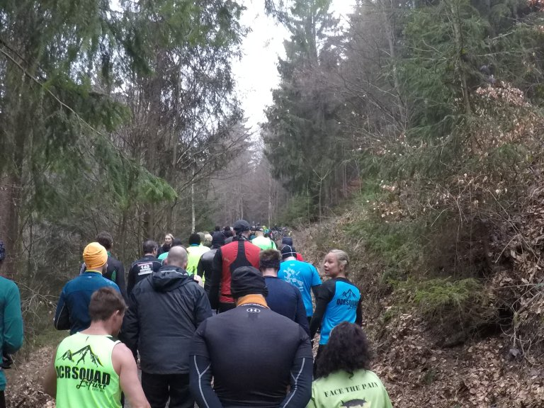 Braveheart Battle, Hindernislauf Thüringen, Strecke Wald