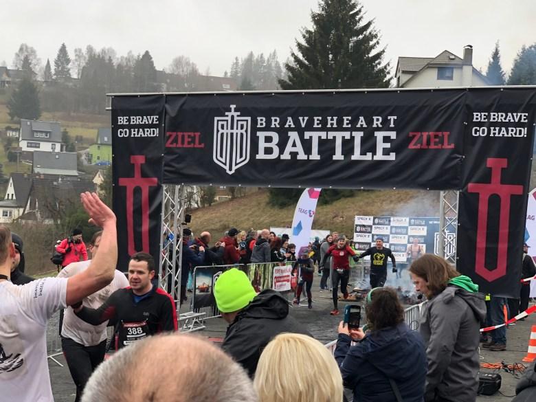 Braveheart Battle, Hindernislauf Thüringen, Ziel
