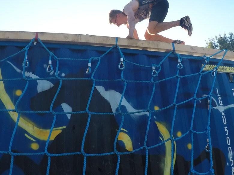 Hindernis Beat the Boxes, Steelman Run
