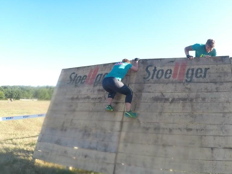 Hindernis Cliff Hanger, Steelman Run