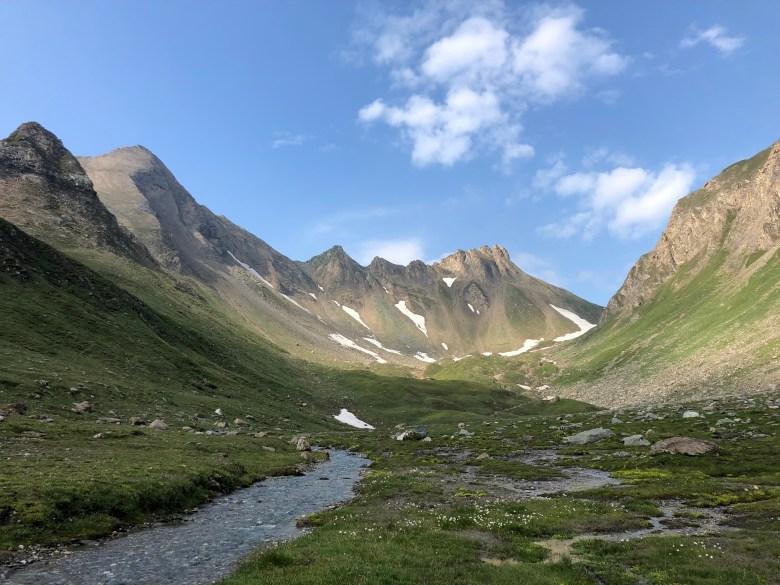 Pfunderer Höhenweg Bergtal