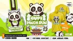 Nibong Tebal Happy Panda 5KM Fun Run @ USM Nibong Tebal