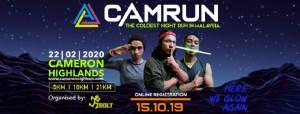 CAMRUN 2020 @ Padang Awam MDCH, Tanah Rata, Cameron Highlands, Pahang