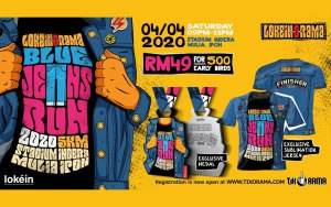 Lokein O Rama Blue Jeans Night Run @ Ipoh