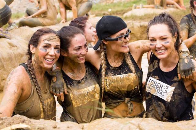 All you need is mud, muddy buddies, friends