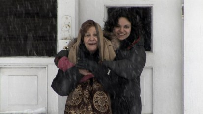 Mamie Flory et sa petite fille Sharon