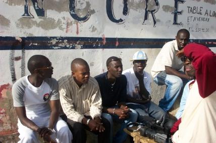 Jeunes Sénégalais
