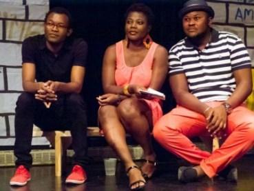 Marie-Louise Bibish Mumbu, Papy Maurice Mbwiti et Fiston Mwanza Mujila-2014
