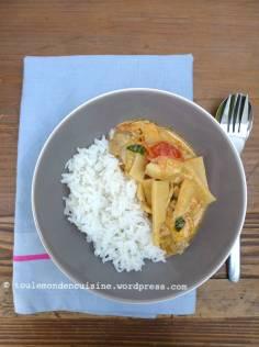 poulet thaï curry rouge coco