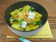 salade thaie ananas calamars