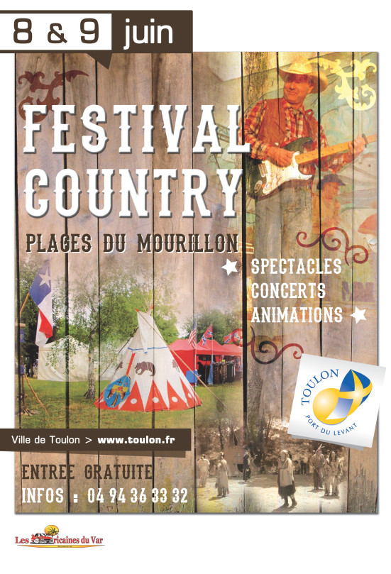 AFFICHE FESTIVAL COUNTRY