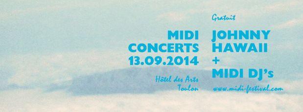 MIDI FESTIVAL HOTEL DES ARTS