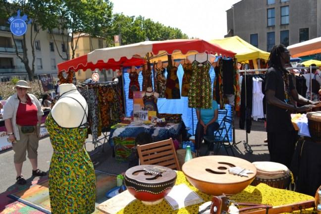 AFRIQUE - MARCHE ARTISANAL