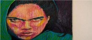 امرأة غاضبة
