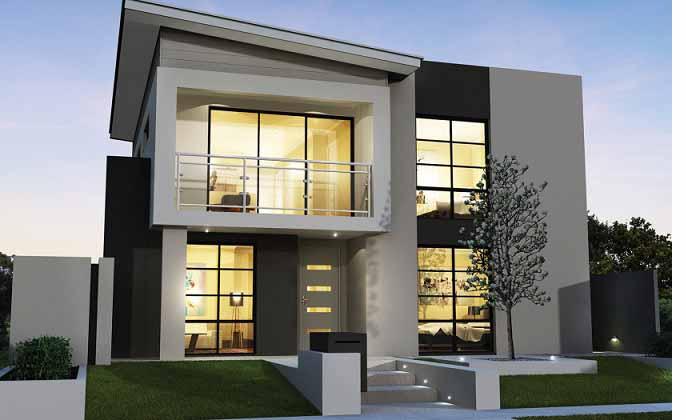 Desain Rumah Minimalis Modern 2 Lantai Solusi Untuk Keluarga Besar