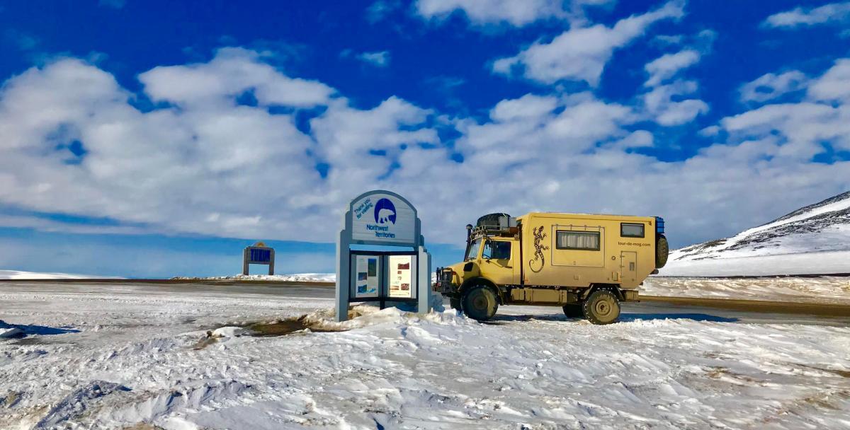 Dempster-Highway-Kanada-Unimog