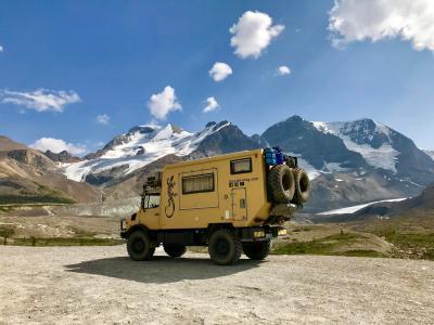 Unimog-Gletscher-Kanada