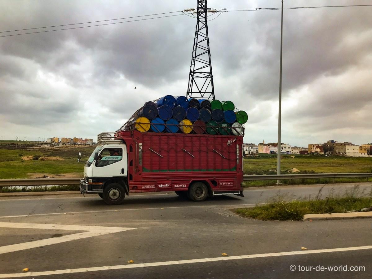 verkehr-in-marokko