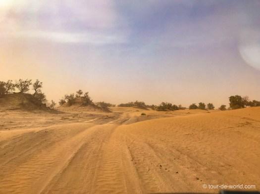 Sandwüste-Marokko-Fahrt