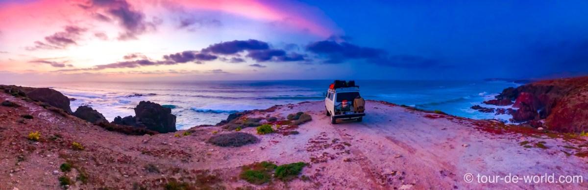 Marokko Roadtrip VW T3 Syncro Weltreise Sahara