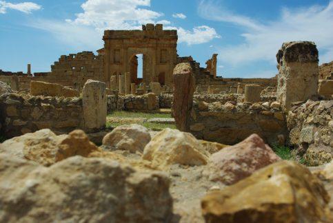 Sbeitla en Tunisie