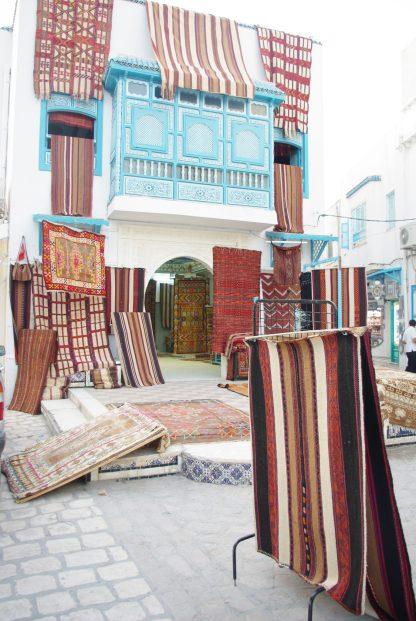 Vendeur de tapis orientaux