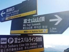 Informations mont fuji