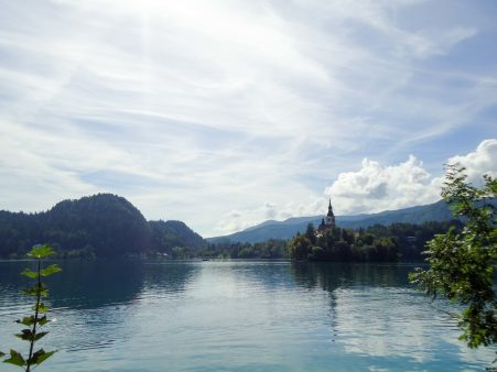 Photo du lac de bled