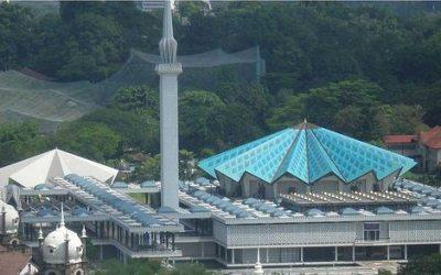 المسجد الوطنى في ماليزيا Masjid Negara