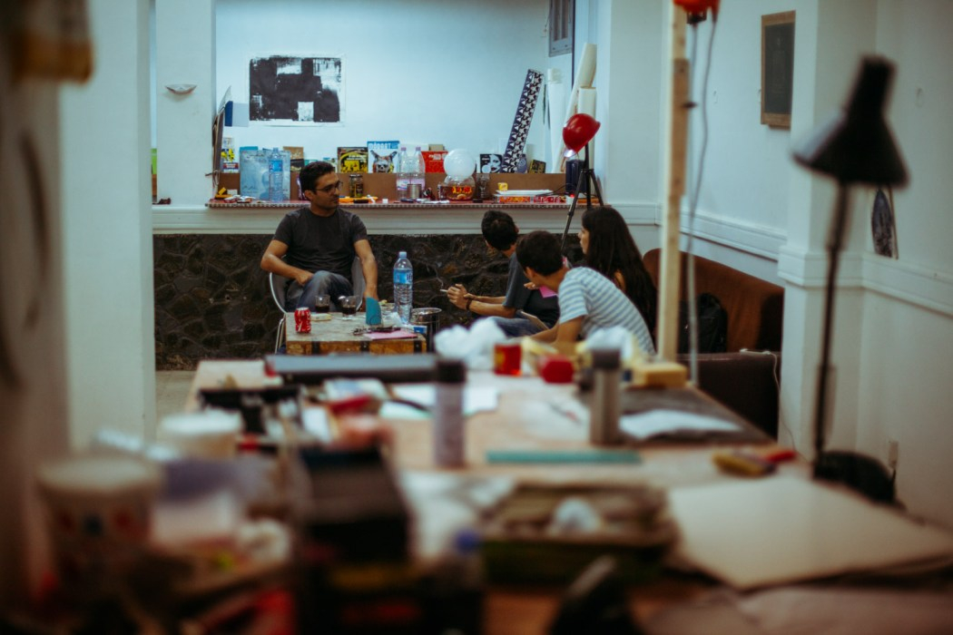 Atelier du Box 24 © Mehdi Drissi