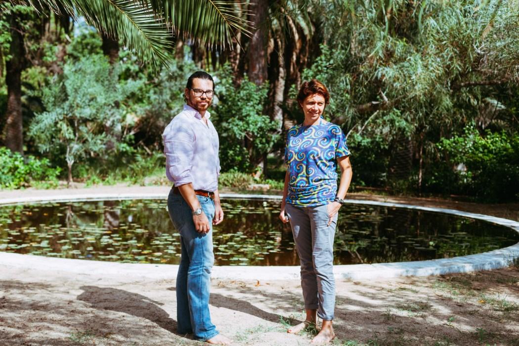 Shiran et Emmanuelle ( de gauche à droite) © Mehdi Drissi