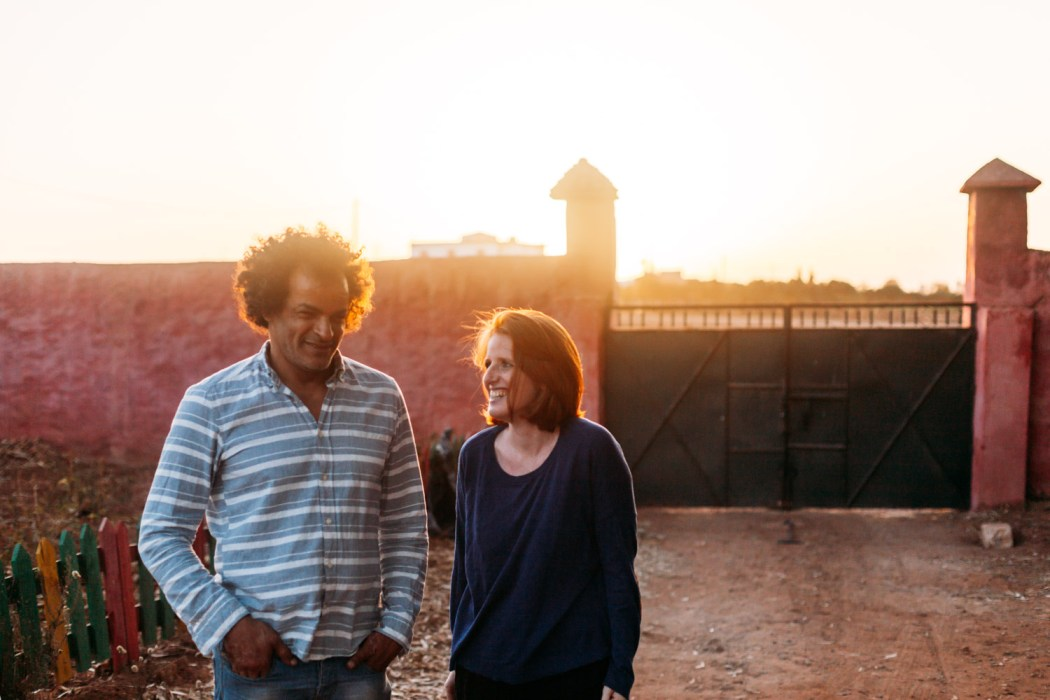 Mohammed et Léa © Mehdi Drissi