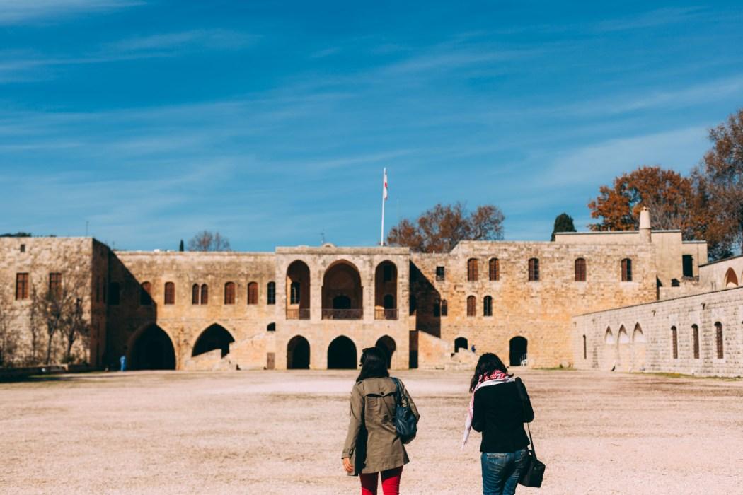 Entrée du Palais Beiteddine © Mehdi Drissi ONORIENTOUR ONORIENT Liban