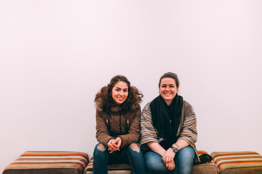 The Studio -Ghalia Barghouthi et Sarah Hatahet © Mehdi Drissi