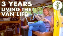 Van Life – Woman Living in a Van for 3 Years to Save Money & Travel the World